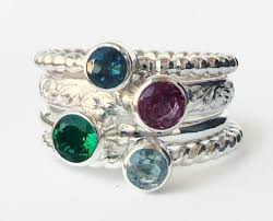 design your own mothers rings design your own set of 4 birthstone or mothers rings check my