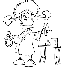 scientist coloring pages fablesfromthefriends com
