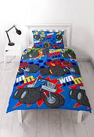 Monster Truck Bed Set Blaze And The Monster Machines U0027zoom U0027 Single Duvet Bedding Set