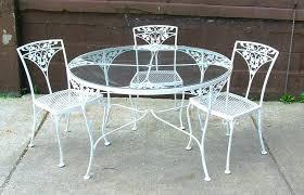 Retro Metal Patio Chairs Old Metal Patio Furniture U2013 Bangkokbest Net