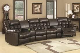 Overstuffed Sectional Sofa Reclining Leather Sectional Sofa Okaycreations Net