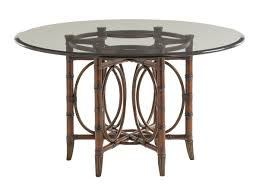coral sea rattan dining table tommy bahama for empty room