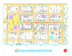 map of santa downtown santa walking map santa california mappery