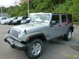jeep billet silver 2014 jeep wrangler unlimited sport 4x4 in billet silver metallic