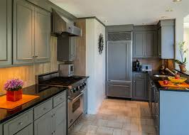 gray cabinets with black countertops 35 gray kitchen counters you can t say no to with pictures