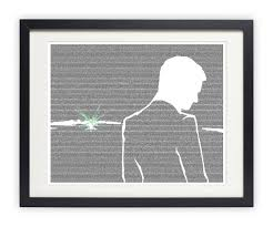 amazon com the great gatsby poster gatsby and the green light