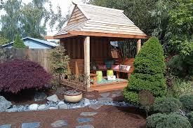 consider it done construction backyard tea house