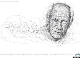 vince low pays homage to famous dyslexics with realistic scribble