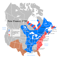 New Orleans On Map by Quebec 1750 And You Forget That Quebec Was Used To Be Canada