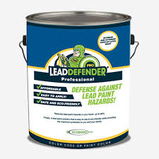 Interior Paint Home Depot Ecobond Lbp 1 Gal Lead Defender Pro Off White Flat Interior