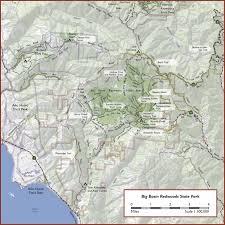 Oak Mountain State Park Trail Map by Bigbasin Jpg