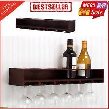 wine bottle glass holder ebay