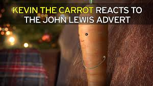 watch aldi and kevin the carrot cheekily poke fun at john lewis