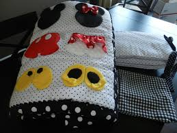Mickey And Minnie Crib Bedding Minnie And Mickey Mouse Baby Bedding Vine Dine King Bed A