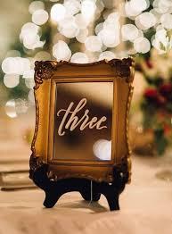 17 winter wedding table numbers ideas happywedd