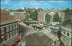 Harvard Yard Map Harvard Square Subway Kiosk Wikipedia
