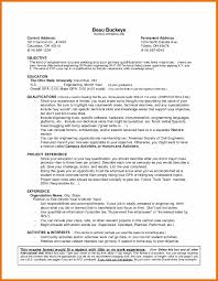 91b Resume 100 Resume With No Experience Template Sample Resume No Work