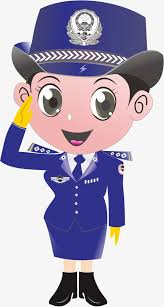 female police png elements police cartoon png png and vector