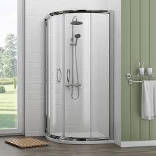 newark 900 x 900mm quadrant shower enclosure with pearlstone tray