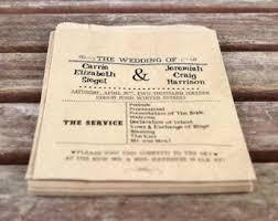 Kraft Paper Wedding Programs Kraft Paper Wedding U2013 Amusing Wedding Ceremony Program Paper