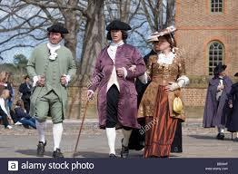 period actors at colonial williamsburg virginia stock photo