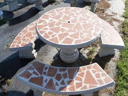 Concrete Patio Table Set 51 Concrete Garden Table Set Concrete Furniture Loya 039 S