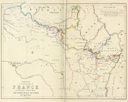 A Map Of France by Treaty Of Paris 1814 Wikiwand