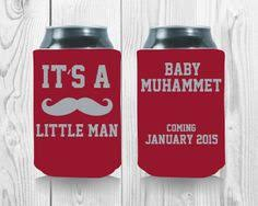 baby shower koozies ready set baby personalized koozies baby shower by mintandlemon