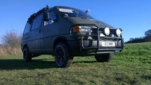volkswagen syncro 4x4 show me your off road inspired vans archive vw t4 forum vw