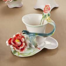 fancy european enamel porcelain tea mugs ceramic tea sets and