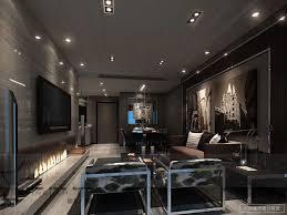 sleek modern living room masculine chrome stunning modern living