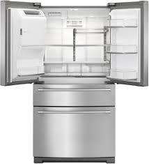 Whirlpool Inch French Door Refrigerator - maytag mfx2676frz 36 inch 4 door french door refrigerator with