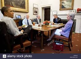 president barack obama has lunch with cabinet secretaries in the