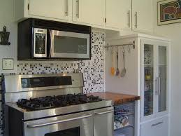 Country Kitchen Backsplash Tiles Kitchen Design 20 Photos White Mosaic Tile Kitchen Backsplash
