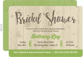 rustic bridal shower invitations cheap bridal shower invitations invite shop