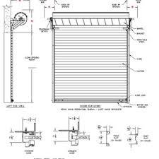 Overhead Roll Up Doors 2 Car Garage Dimensions Car Garage Door Size Width Designs