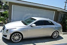 cadillac ats wheels for sale cadillac ats luxury 3 6l v6 321hp loaded no reserve 19 mrr