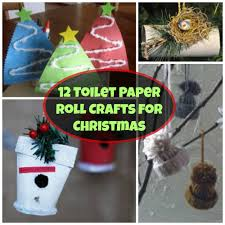 check out these 12 toilet paper roll crafts for christmas with
