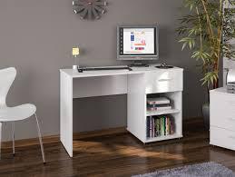 desk or dressing table white 1 drawer 2 shelves london bedroom