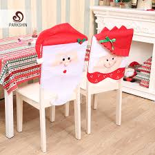 snowman chair covers parkshin christmas snowman chair cover non woven christmas chair