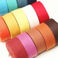 thick ribbon 32 mm 10 yards thick knitted ribbons belt canvas bag webbing bag