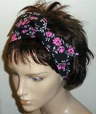 boho hair wrap 1970s hair headbands ebay