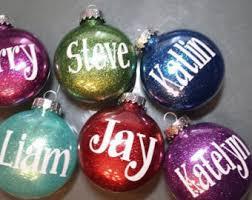 ornament glitter etsy