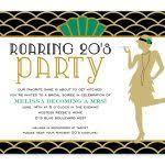 roaring 20s birthday invitations speakeasy 518 speakeasy 518