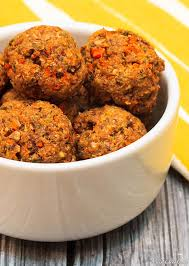 easy veggie balls with mushrooms and carrots wishful chef