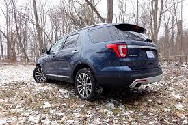 Ford Explorer 3 Rows - 2016 ford explorer platinum review