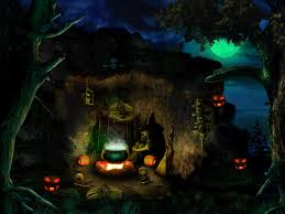 scary halloween screen savers witch computer background images reverse search
