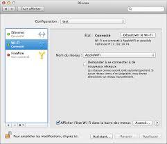 Problème Carte Réseau Wifi Dans Résolution Des Problèmes De Connectivité Wi Fi Assistance Apple