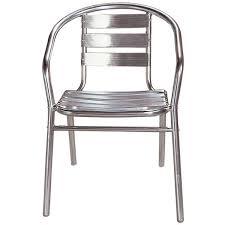 chaise bistrot alu chaise bistrot aluminium