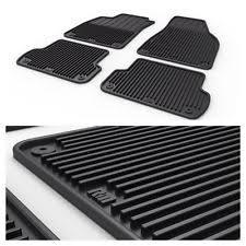 genuine audi a4 car mats genuine audi a4 b7 front rubber floor mats part 8e2061501a041 ebay
